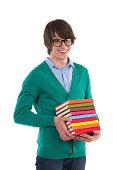 istock Happy nerd 488828127