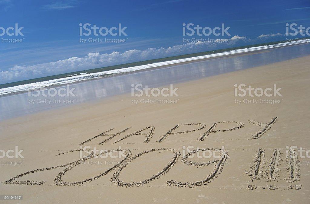 Happy New Year 2009 royalty-free stock photo