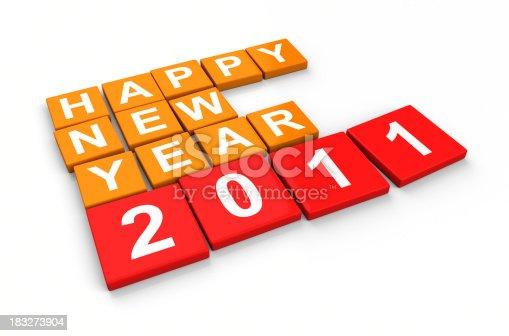 istock Happy New Year 2011 183273904