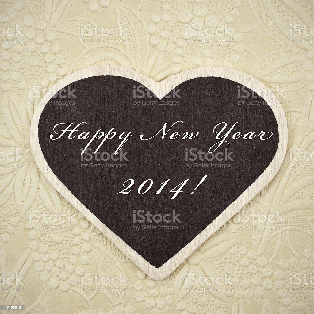 happy new year 2014 royalty-free stock photo