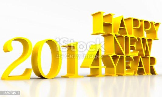 104509114istockphoto happy new year 2014 183070824