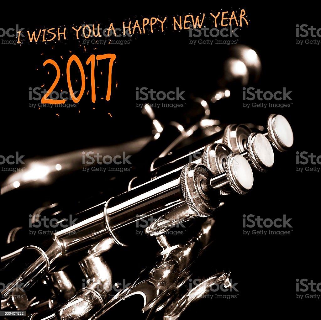 Happy new year 2017 greeting card stock photo istock happy new year 2017 greeting card royalty free stock photo m4hsunfo