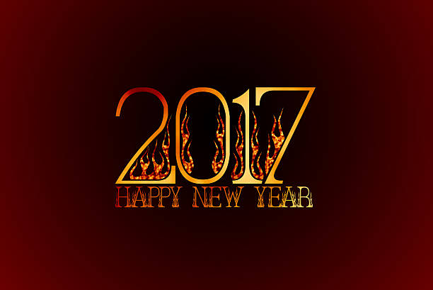 Happy New Year 2017 happy New Year 2017 New Wallpaper grafiker stock pictures, royalty-free photos & images