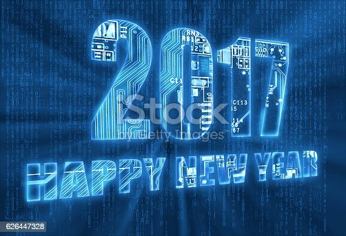 1063751940istockphoto Happy New Year 2017 626447328