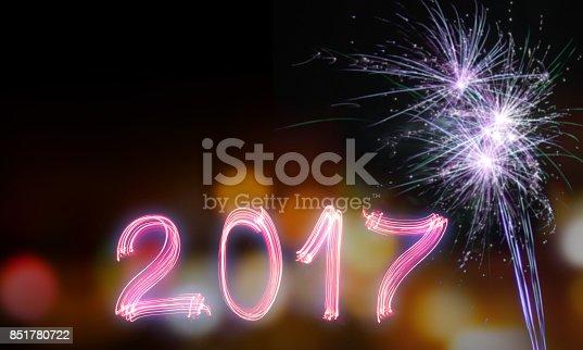 613303142 istock photo Happy new year 2017 851780722