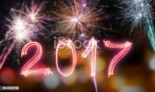 613303142 istock photo Happy new year 2017 854369298