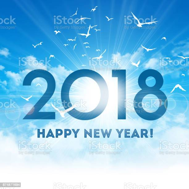 Happy new year 2018 greeting card picture id874871694?b=1&k=6&m=874871694&s=612x612&h=fza4s7654a09as28h7sbj04 dbcgxjfurvvmxixwkmm=