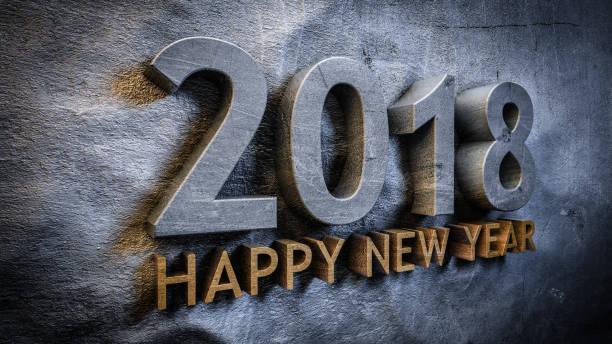 Frohes neues Jahr 2018 – Foto