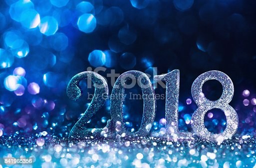 istock Happy New Year 2018 841965356