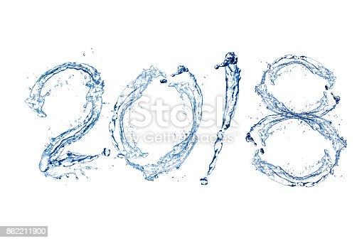 istock Happy New Year 2018 862211900