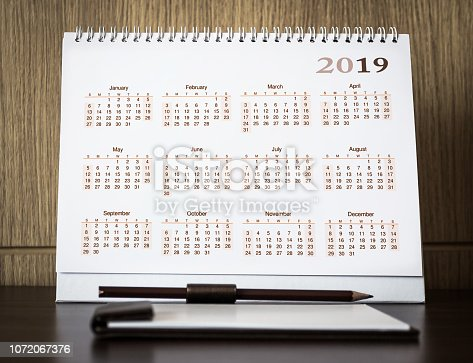 istock Happy new year 2019 concept 1072067376