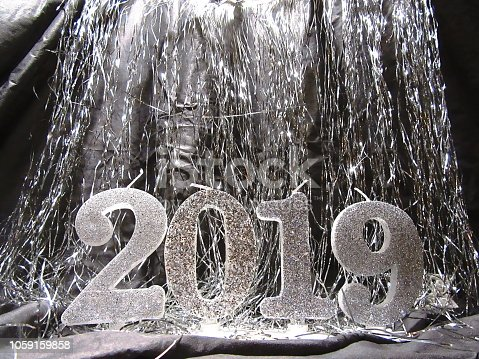 istock Happy New year 2019. Merry Christmas background 1059159858