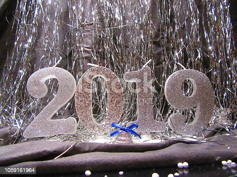 istock Happy New year 2019. Merry Christmas background 1059161964