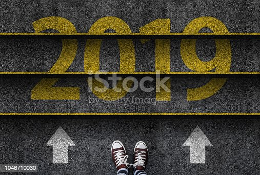 istock happy new year 2019. 1046710030