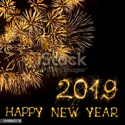 istock Happy New Year 2019 1049840176