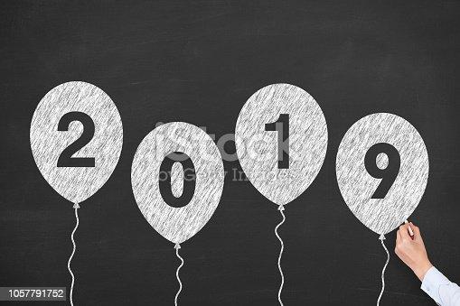 1069595584 istock photo Happy New Year 2019 1057791752
