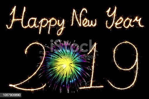 1069595584 istock photo Happy New Year 2019 1057905890