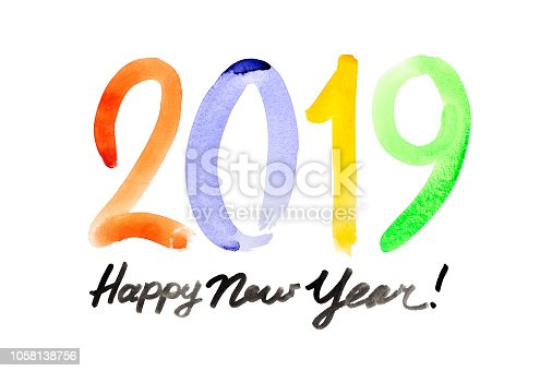 istock Happy New Year 2019 1058138756