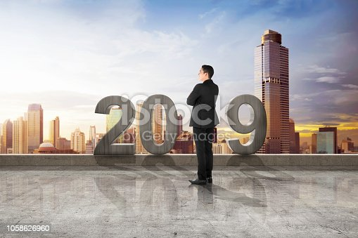 istock Happy New Year 2019 1058626960