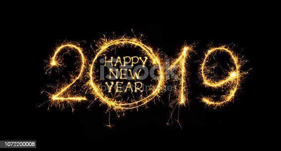 istock Happy New Year 2019 1072200008