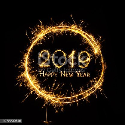 istock Happy New Year 2019 1072200546