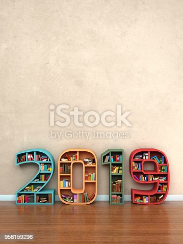 istock Happy New Year 2019 958159296