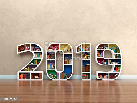 istock Happy New Year 2019 958159326