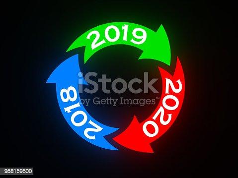 1004788900istockphoto Happy New Year 2019 958159500