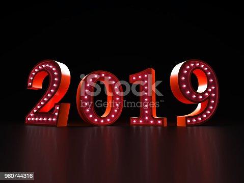 istock Happy New Year 2019 960744316