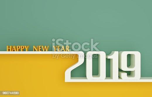 istock Happy New Year 2019 960744590