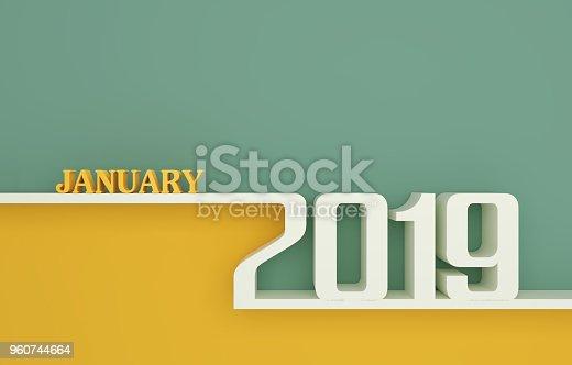 istock Happy New Year 2019 960744664
