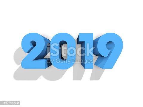 istock Happy New Year 2019 960744828