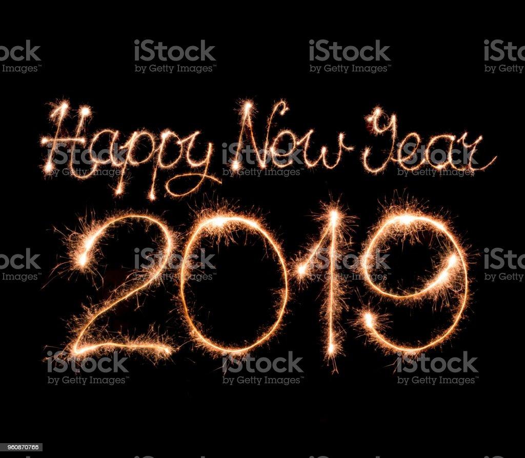 Frohes neues Jahr 2019 – Foto
