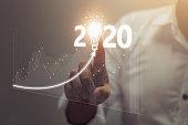 istock Happy New Year 2020 Concept 1177889722