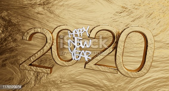 istock happy new year 2020 golden background bold letters 3d-illustration 1170120074