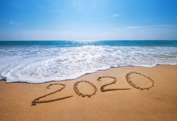 5 037 Happy New Year Beach Stock Photos Pictures Royalty Free Images Istock