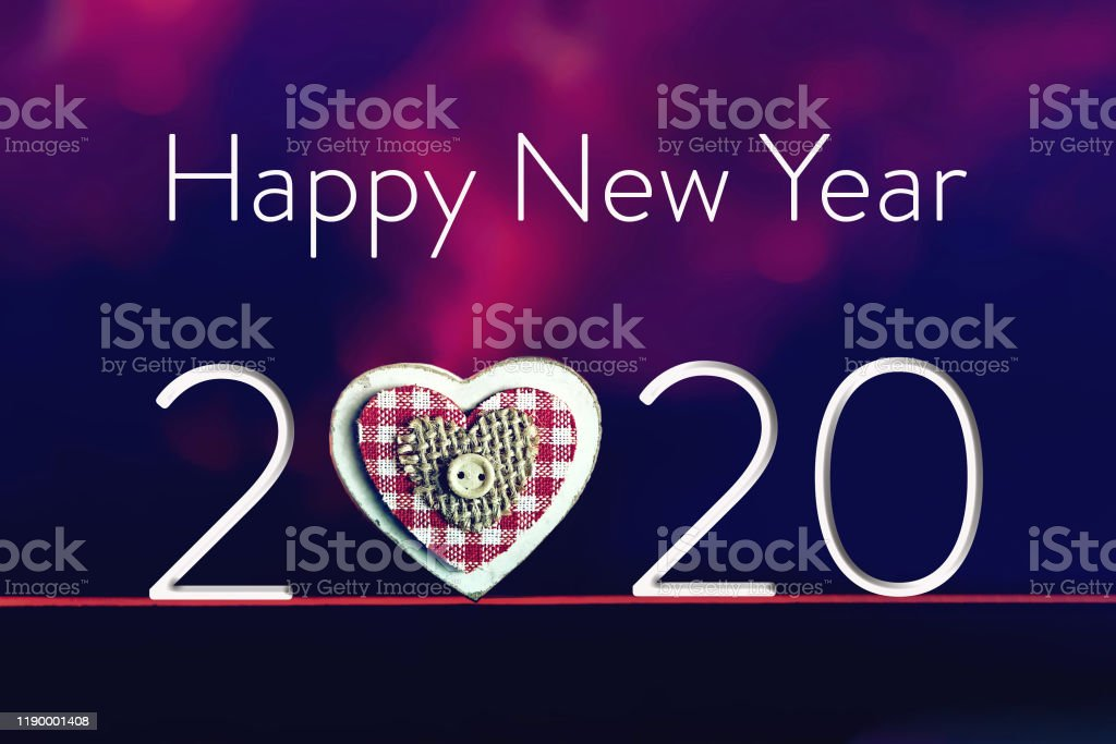 Happy New Year 2020 New Year Greeting Card Stock Photo Download Image Now Istock