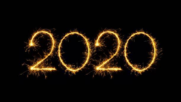 Feliz año nuevo 2020 - foto de stock
