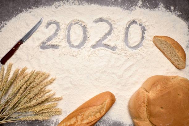 Happy New Year 2020 stock photo