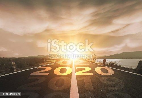 istock Happy New Year 2020 1189490869