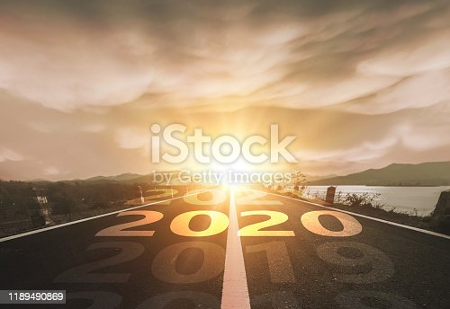 1065669434 istock photo Happy New Year 2020 1189490869