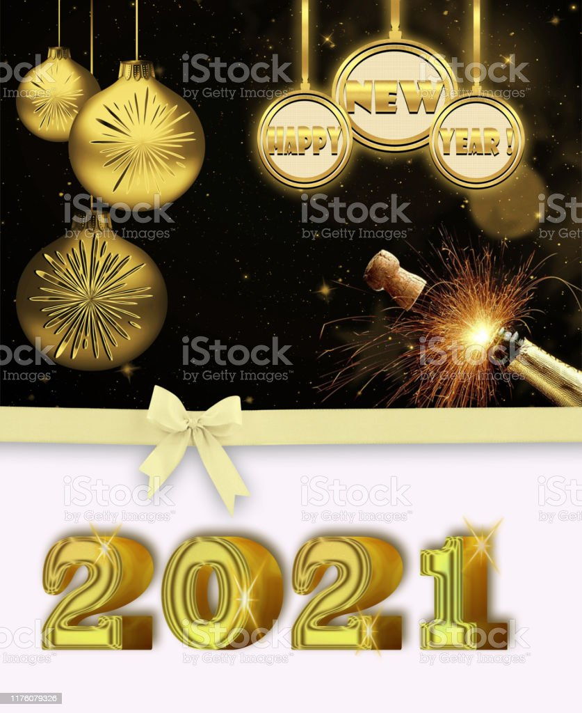 The Best New Year Background 2021
