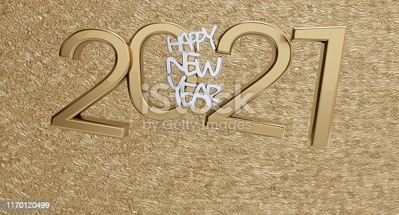 istock happy new year 2021 golden background bold letters 3d-illustration 1170120499