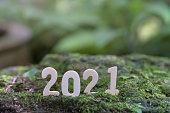 istock Happy New Year 2021. 1285959671