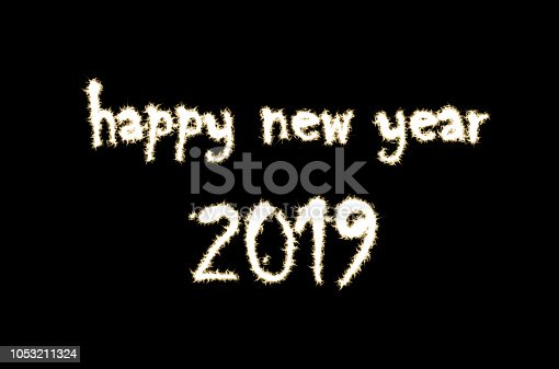 1049836902 istock photo happy new year and sparkle effect 1053211324