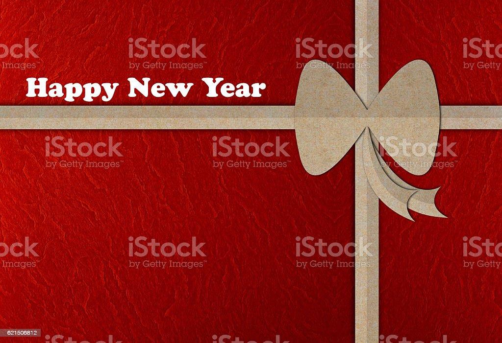 Happy New Year Background Paper Cut Style Lizenzfreies stock-foto