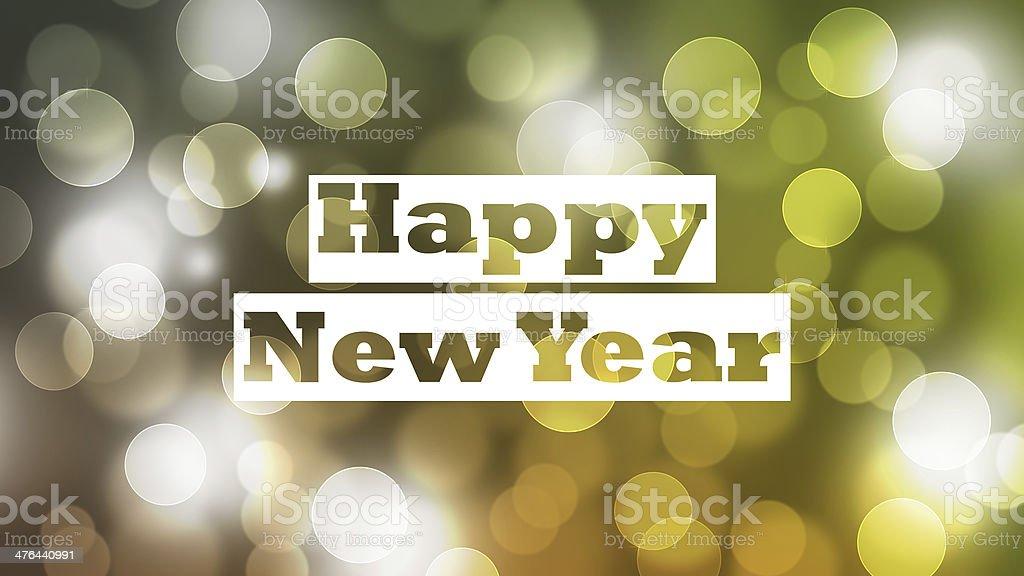 Happy New Year Bigger HD Ratio stock photo