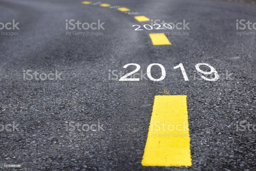 Happy new year concept royalty-free stock photo
