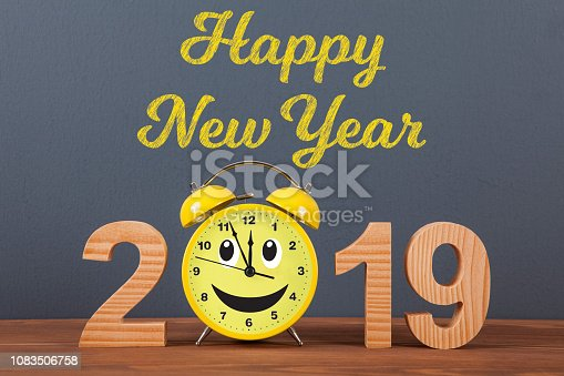 istock Happy new year concepts 2019 countdown clock 1083506758
