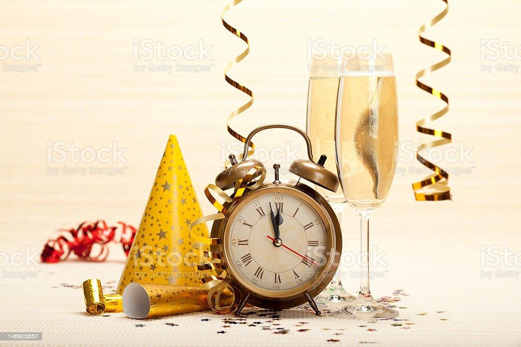 Frohes neues Jahr-party Dekoration – Foto